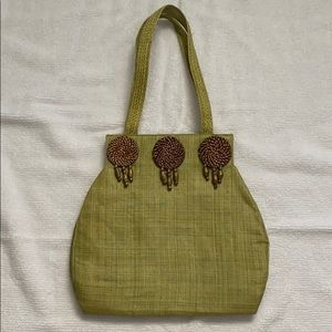 Handwoven Snap-Shut Purse Made in Philippines